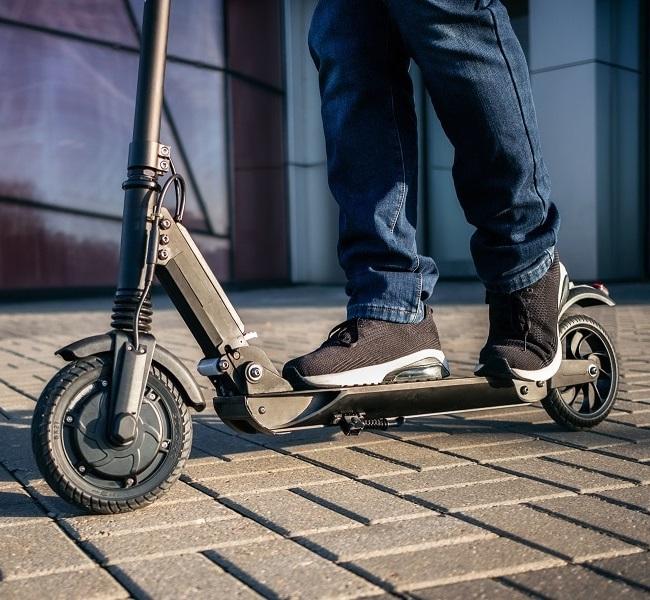 E-Scooter Test mit Straßenzulassung