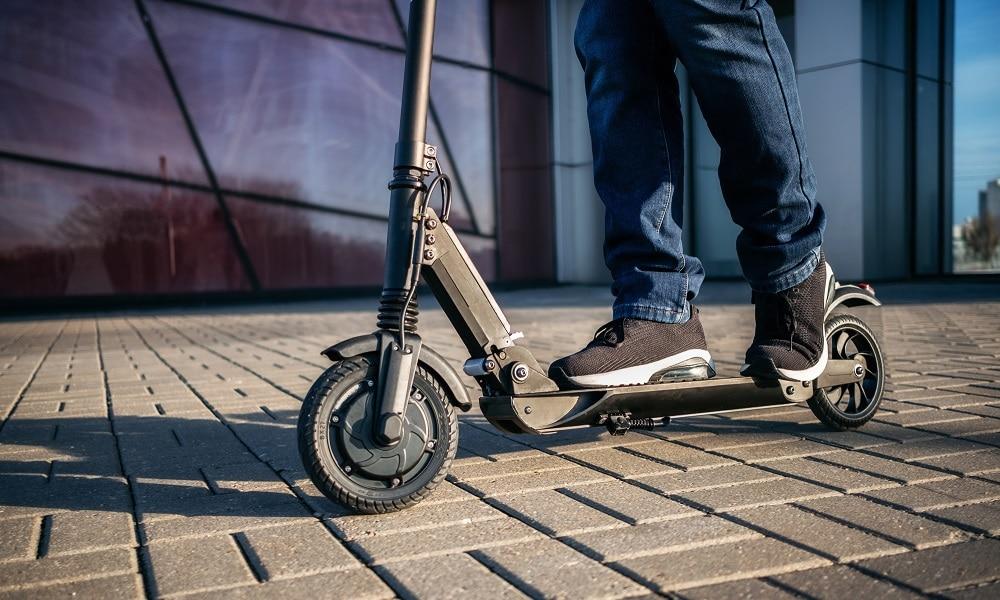 E-Scooter mit Luftreifen