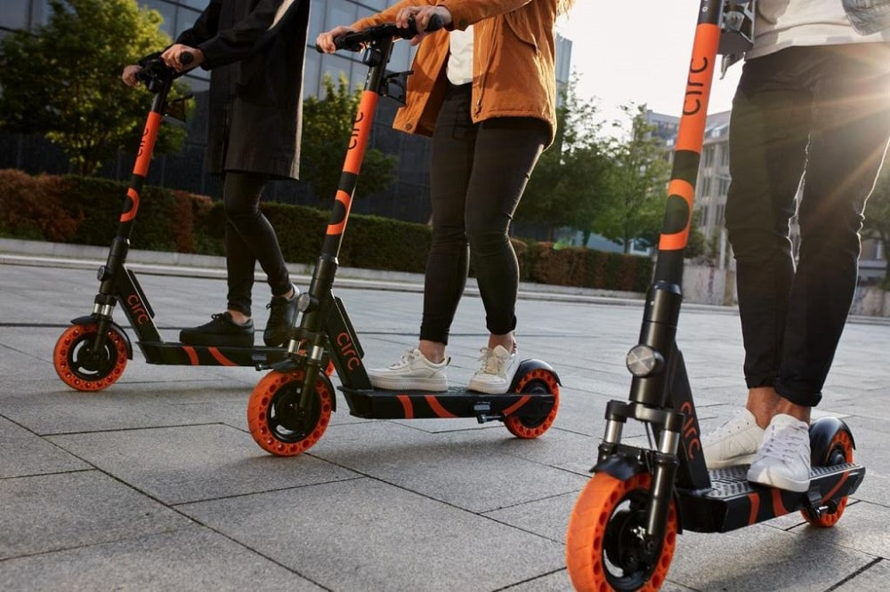Herne Circ E-Scooter Start in Deutschland