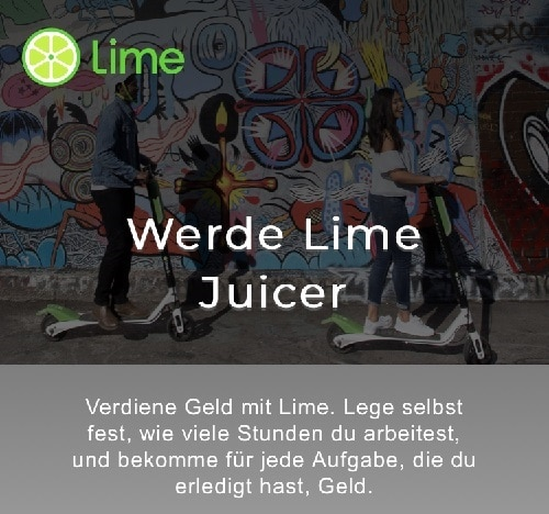 Lime Juicer Anmeldung