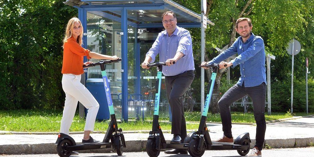 TIER Mobility E-Scooter Kooperation mit Münchner Verkehrsgesellschaft (MVG)